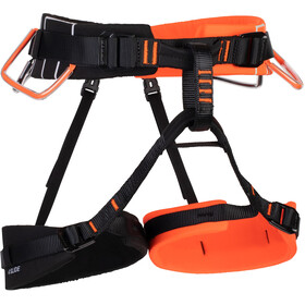 Mammut 4 Slide Harness vibrant orange-black